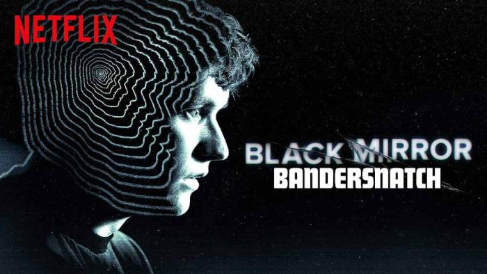 Czarne lustro Bandersnatch film interaktywny