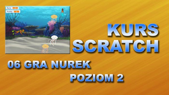 Kurs Scratch 06 Gra – Nurek
